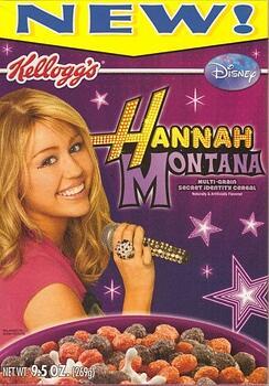 Hannah Montana Cereal